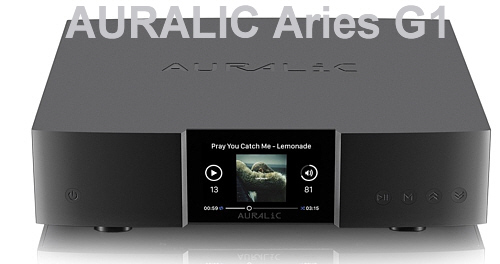 Auralic Aries G1, DSD-Audio-Streamer