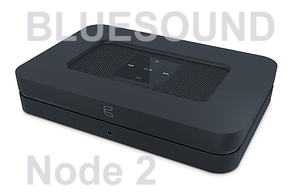 Bluesound Node 2, Musikstreamer