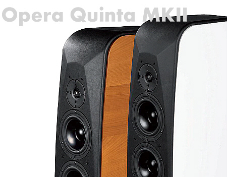 Opera Quinta MKII, High End Standlautsprecher